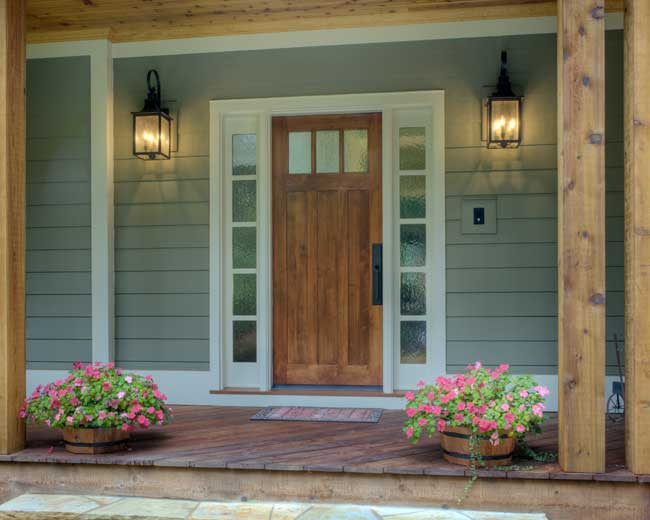 Custom doors custom millwork custom exterior doors for Outside doors for homes